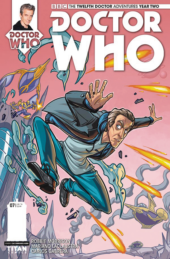 DOCTOR WHO 12TH YEAR TWO #7 CVR D SIMMONDS HURN