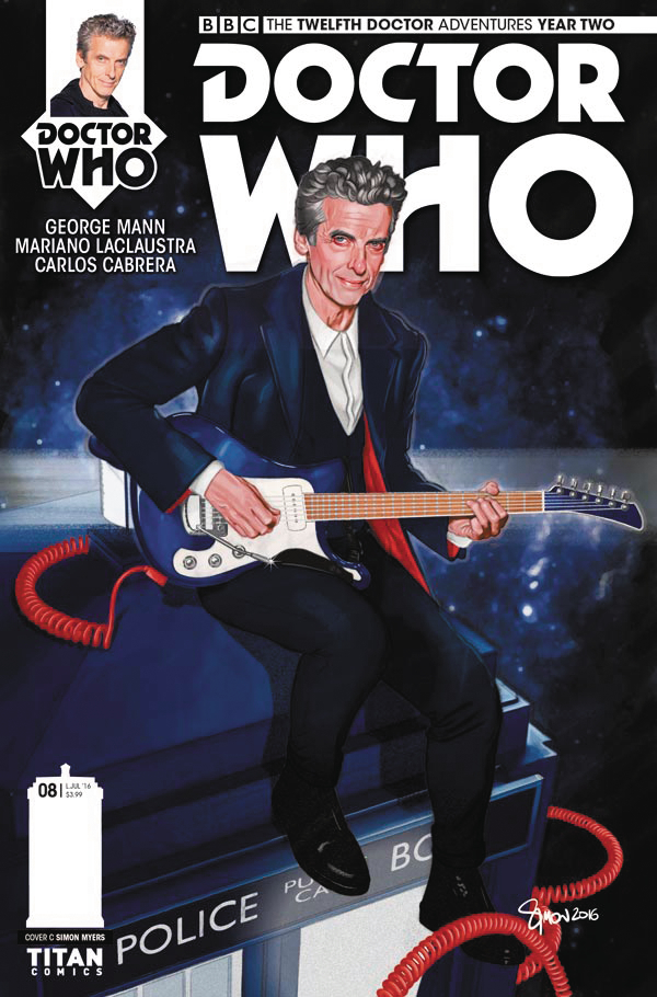 DOCTOR WHO 12TH YEAR TWO #8 CVR C MYERS