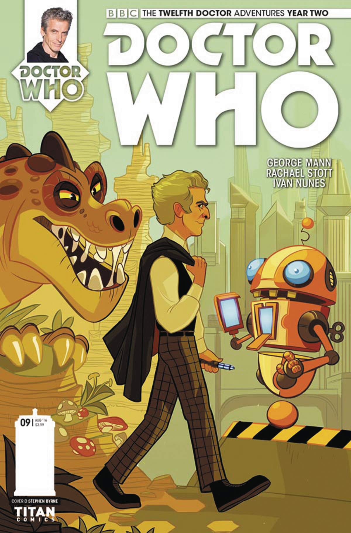 DOCTOR WHO 12TH YEAR TWO #9 CVR D BYRNE