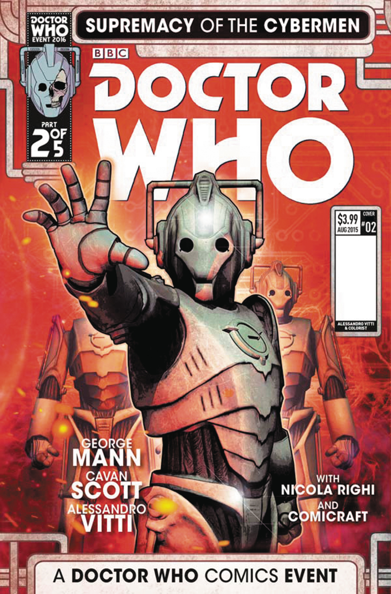 DOCTOR WHO SUPREMACY OF THE CYBERMEN #2 (OF 5) CVR C LISTRAN