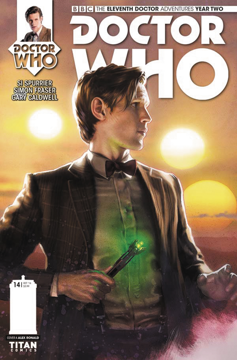 DOCTOR WHO 11TH YEAR TWO #14 CVR A RONALD