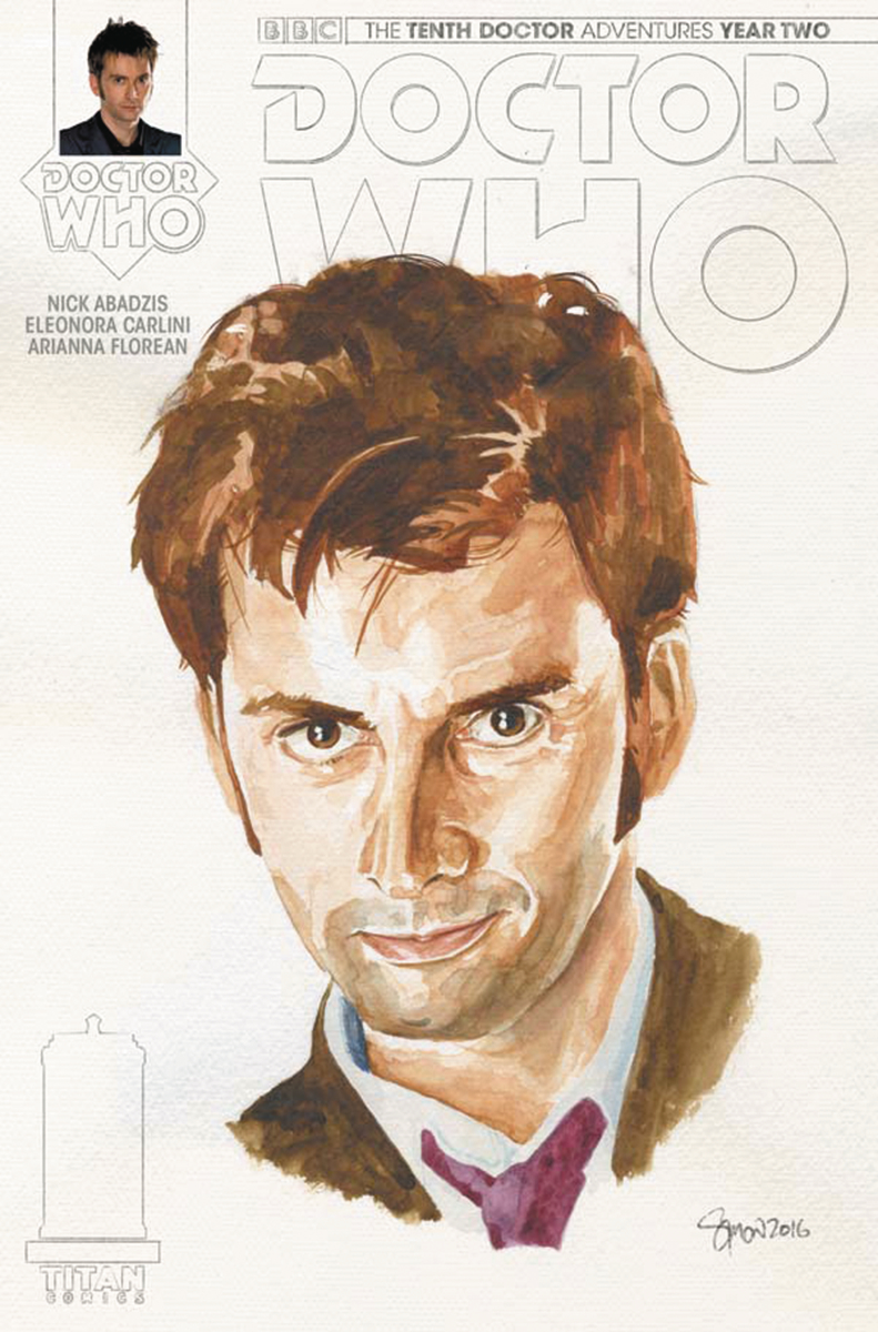 DOCTOR WHO 10TH YEAR TWO #14 CVR C MYERS