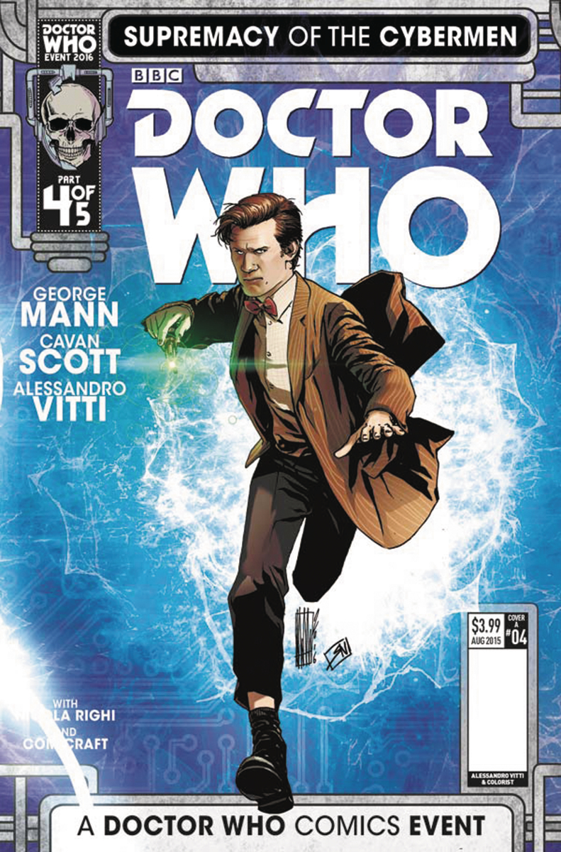 DOCTOR WHO SUPREMACY OF THE CYBERMEN #4 (OF 5) CVR A VITTI