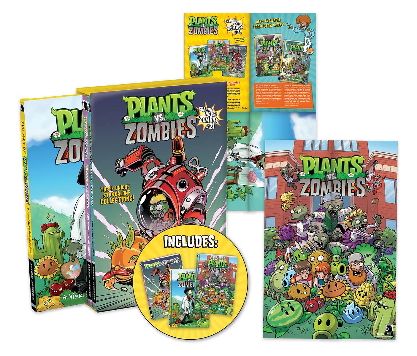 PLANTS VS ZOMBIES HC BOX SET VOL 02