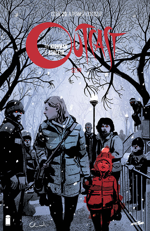 OUTCAST BY KIRKMAN & AZACETA #20 (MR)