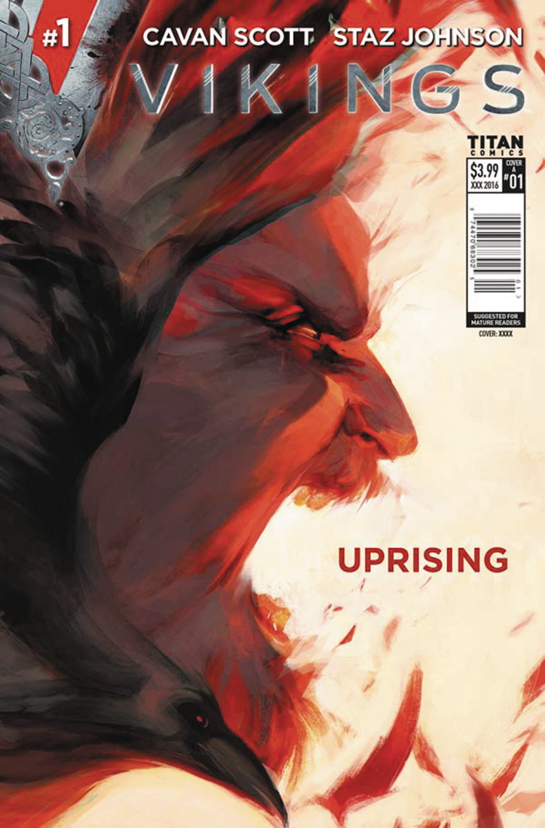 VIKINGS UPRISING #1 CVR D GLASS