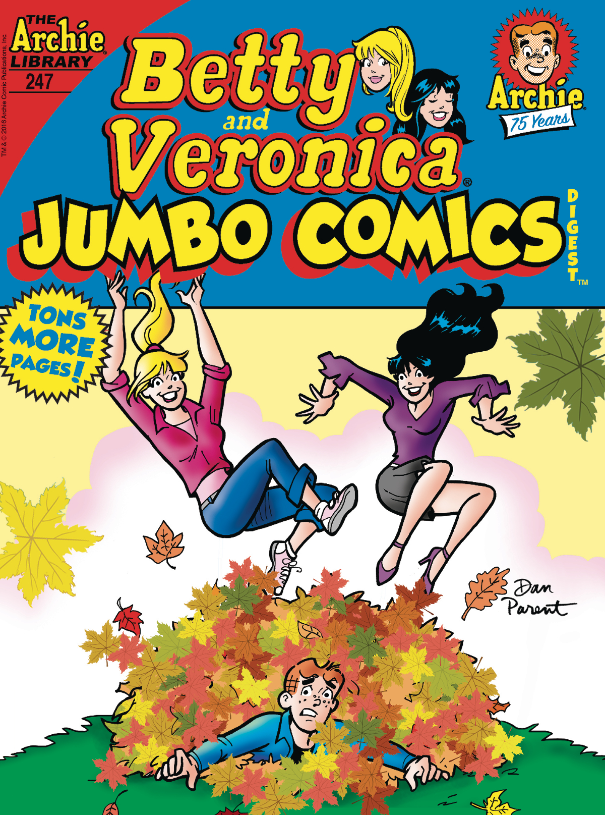 BETTY & VERONICA JUMBO COMICS DIGEST #247