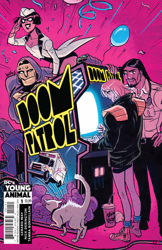 DOOM PATROL #1 TARR VAR ED (MR)