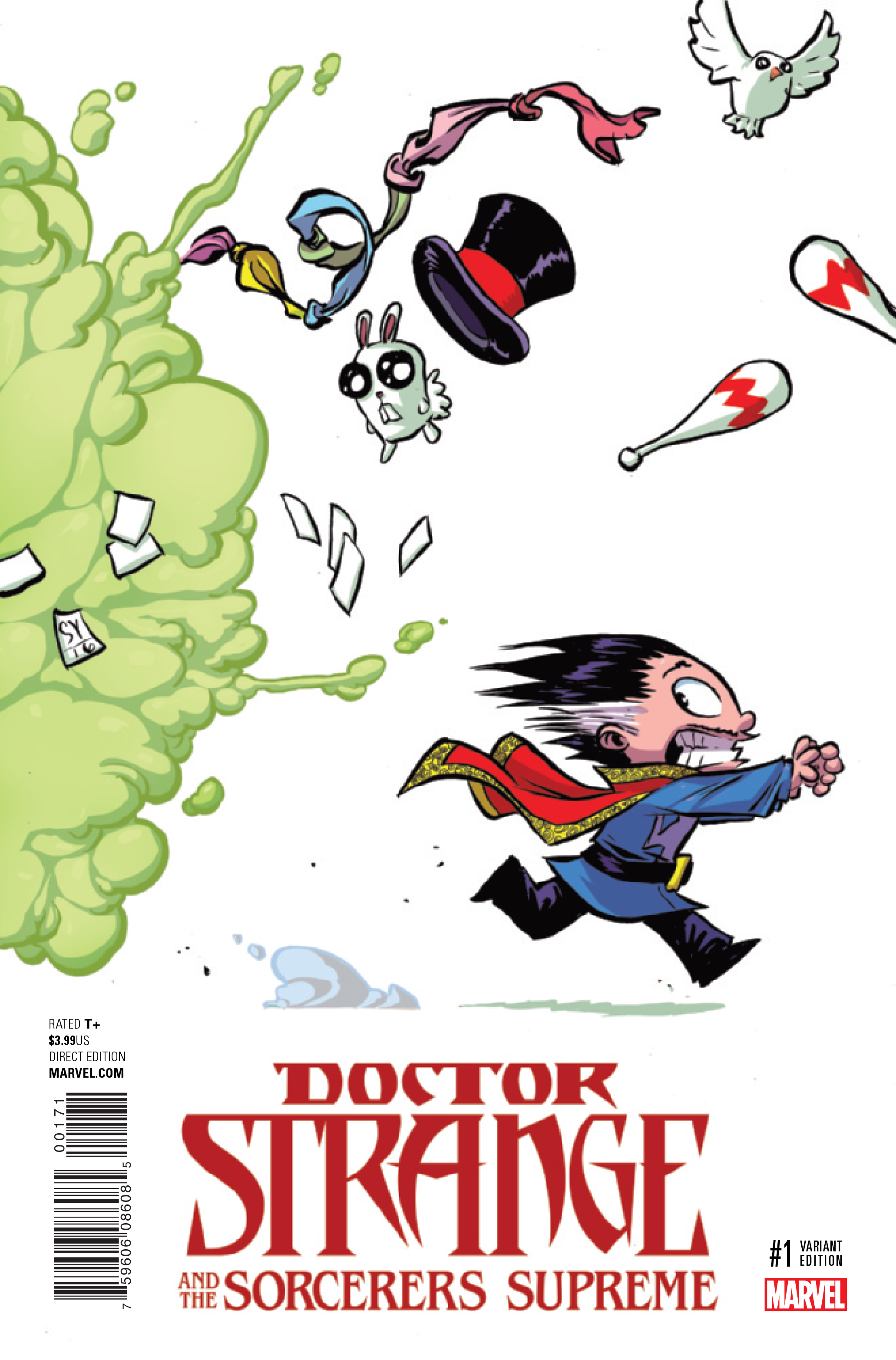 DOCTOR STRANGE SORCERERS SUPREME #1 YOUNG VAR NOW