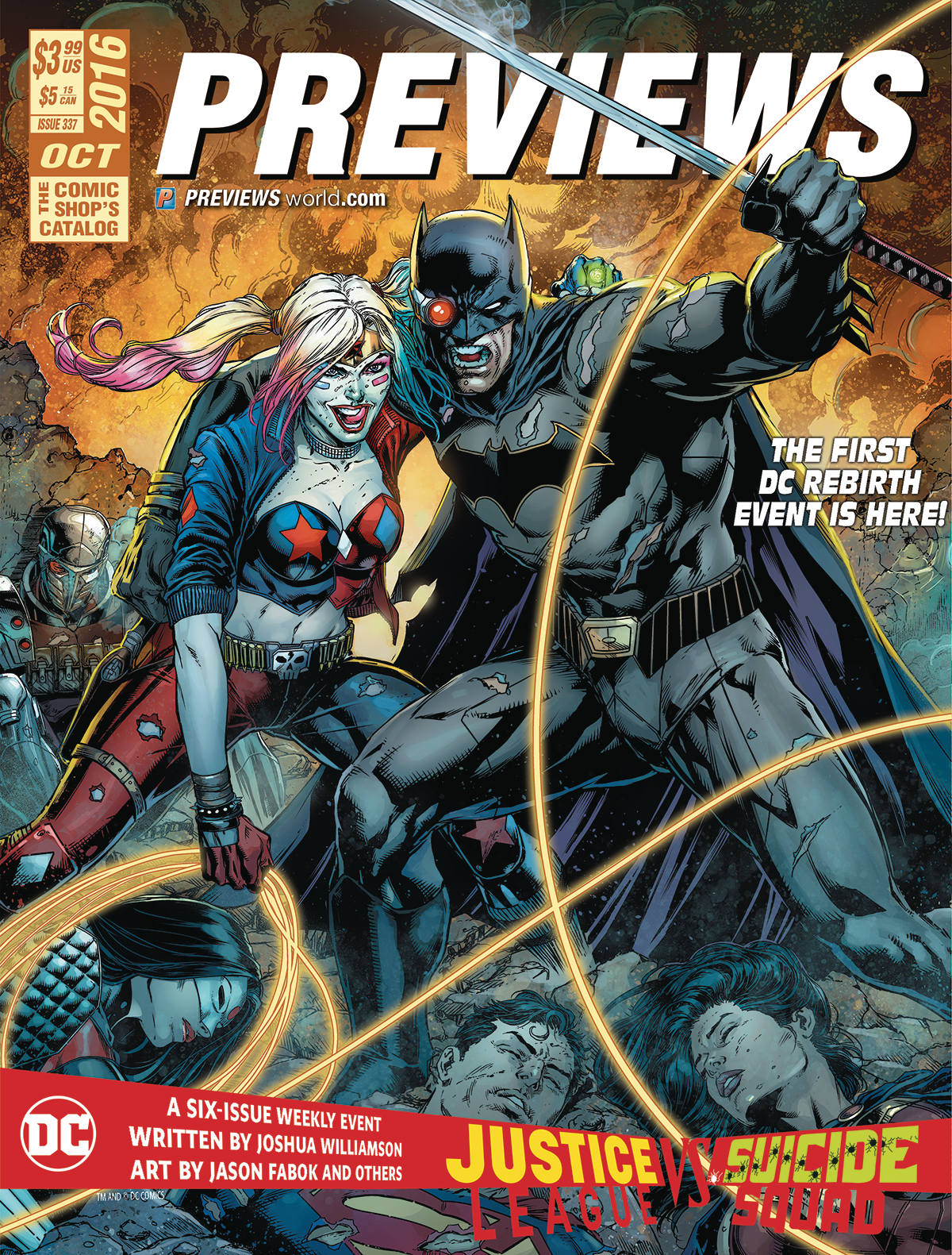 PREVIEWS #337 OCTOBER 2016