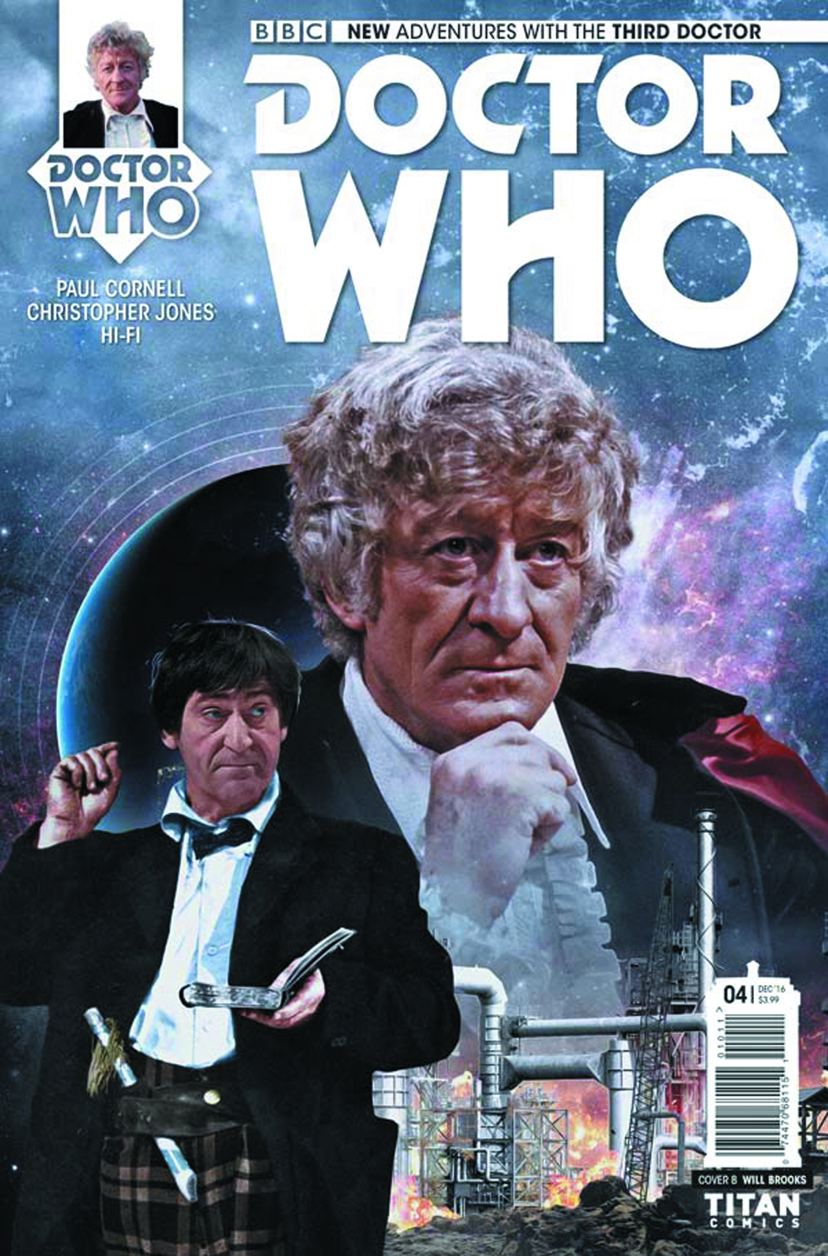DOCTOR WHO 3RD #4 (OF 5) CVR B PHOTO