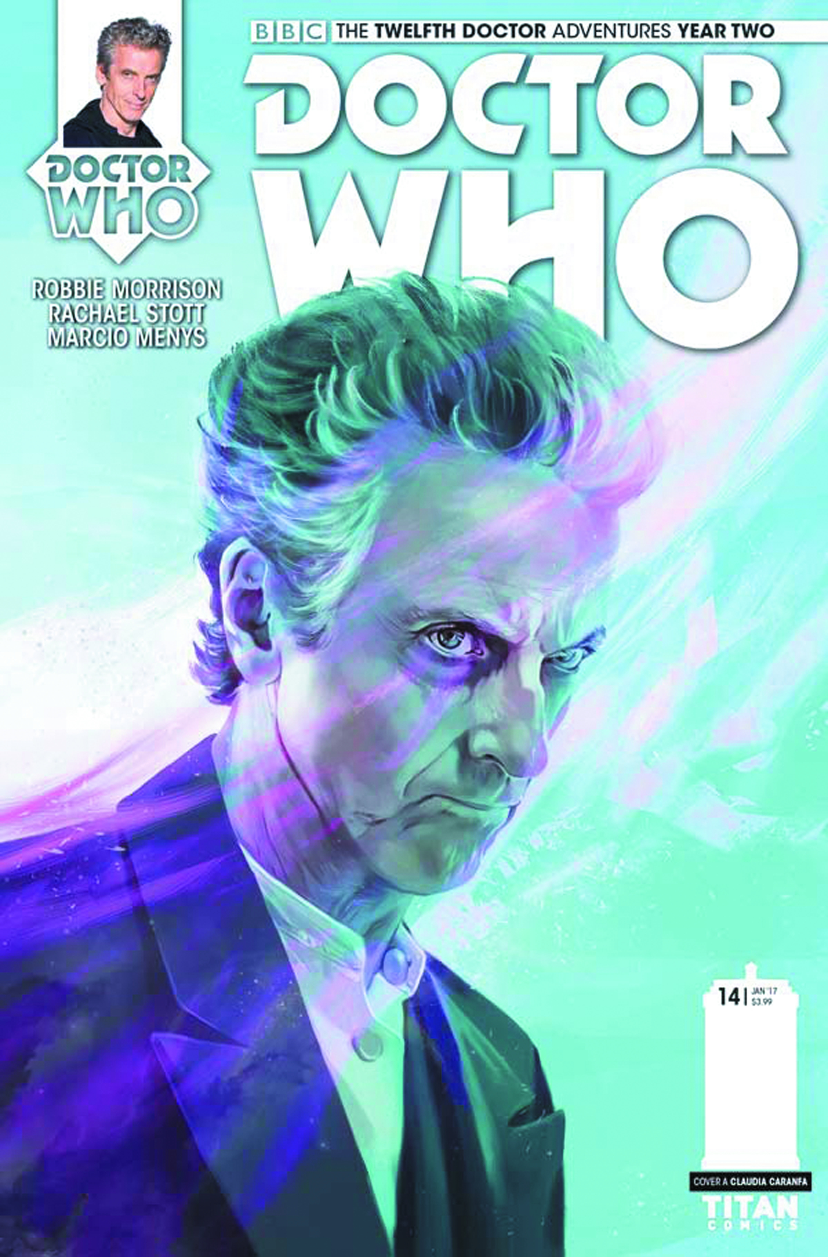 DOCTOR WHO 12TH YEAR TWO #14 CVR A CARANFA