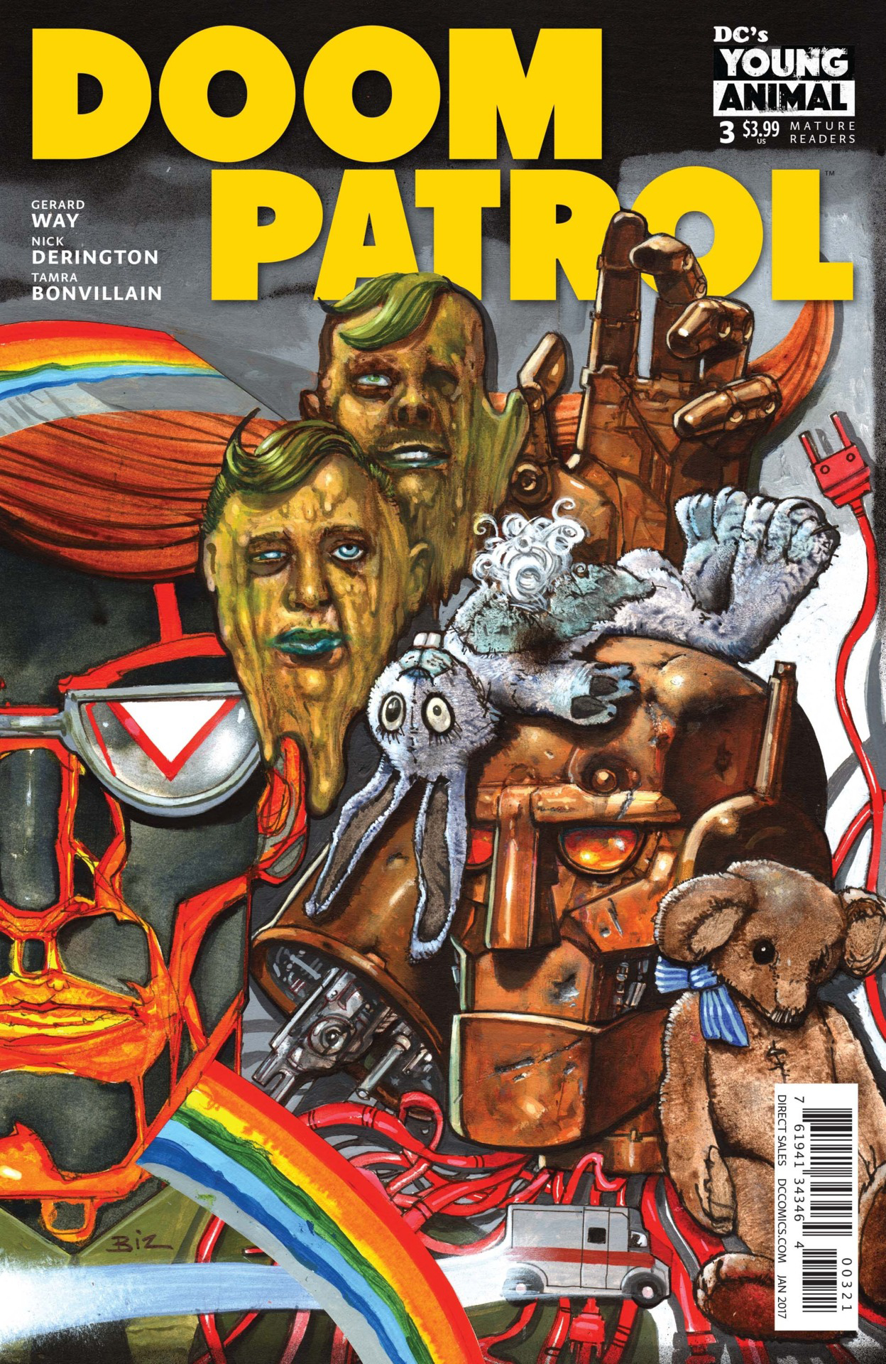 DOOM PATROL #3 VAR ED (MR)