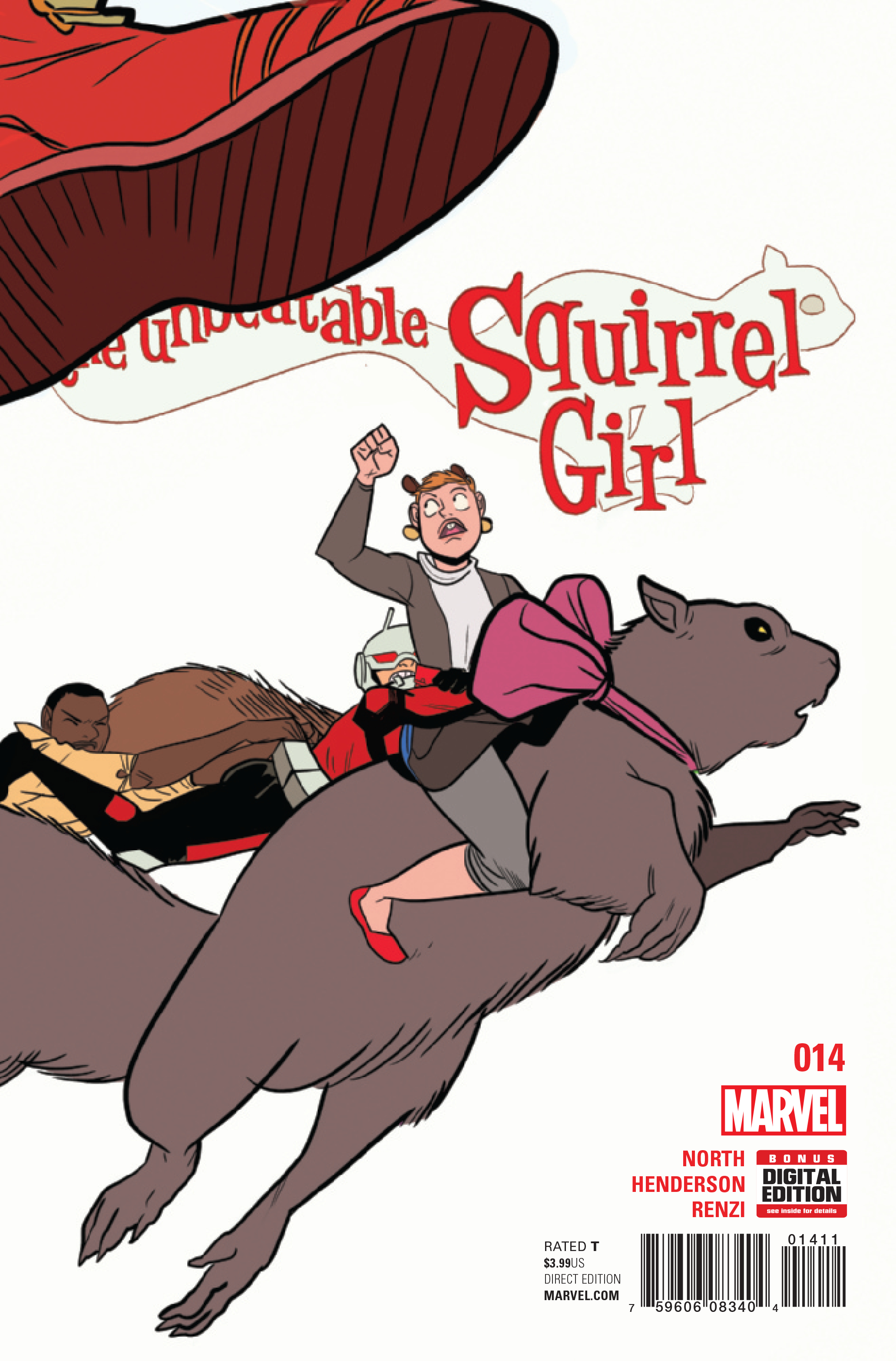 UNBEATABLE SQUIRREL GIRL #14