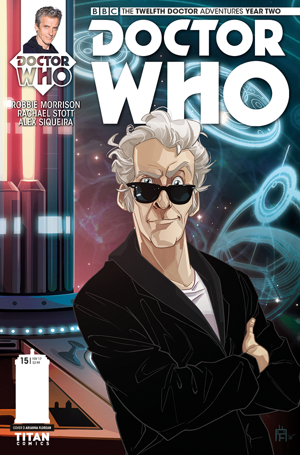 DOCTOR WHO 12TH YEAR TWO #15 CVR D FLOREAN