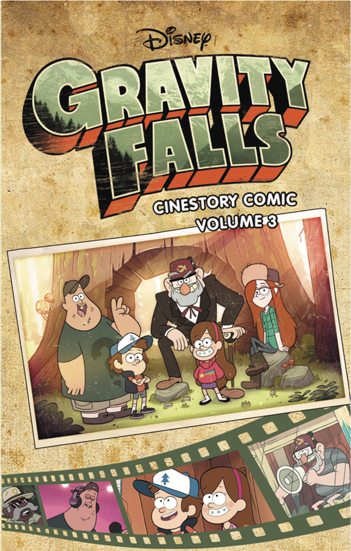 DISNEY GRAVITY FALLS CINESTORY TP VOL 03