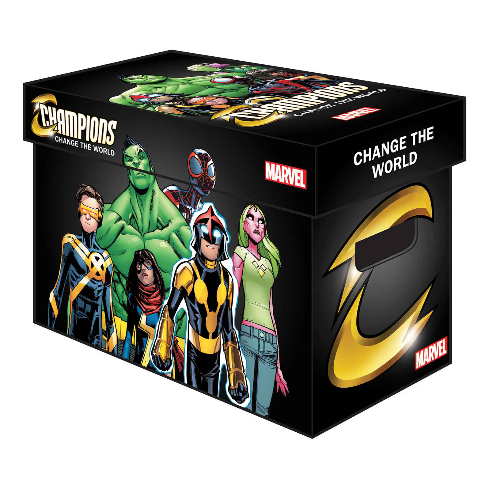 MARVEL GRAPHIC COMIC BOXES CHAMPIONS (BUNDLE OF 5) (Net)