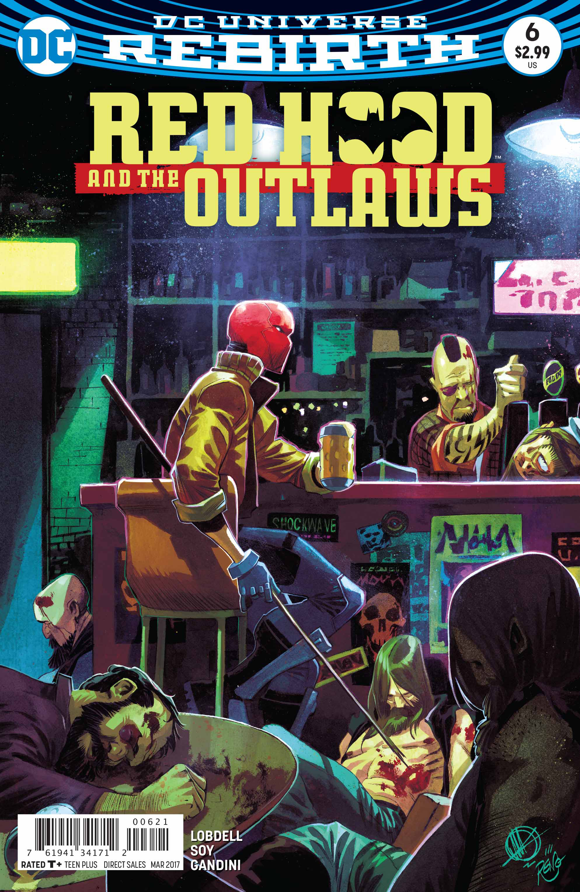 RED HOOD AND THE OUTLAWS #6 VAR ED