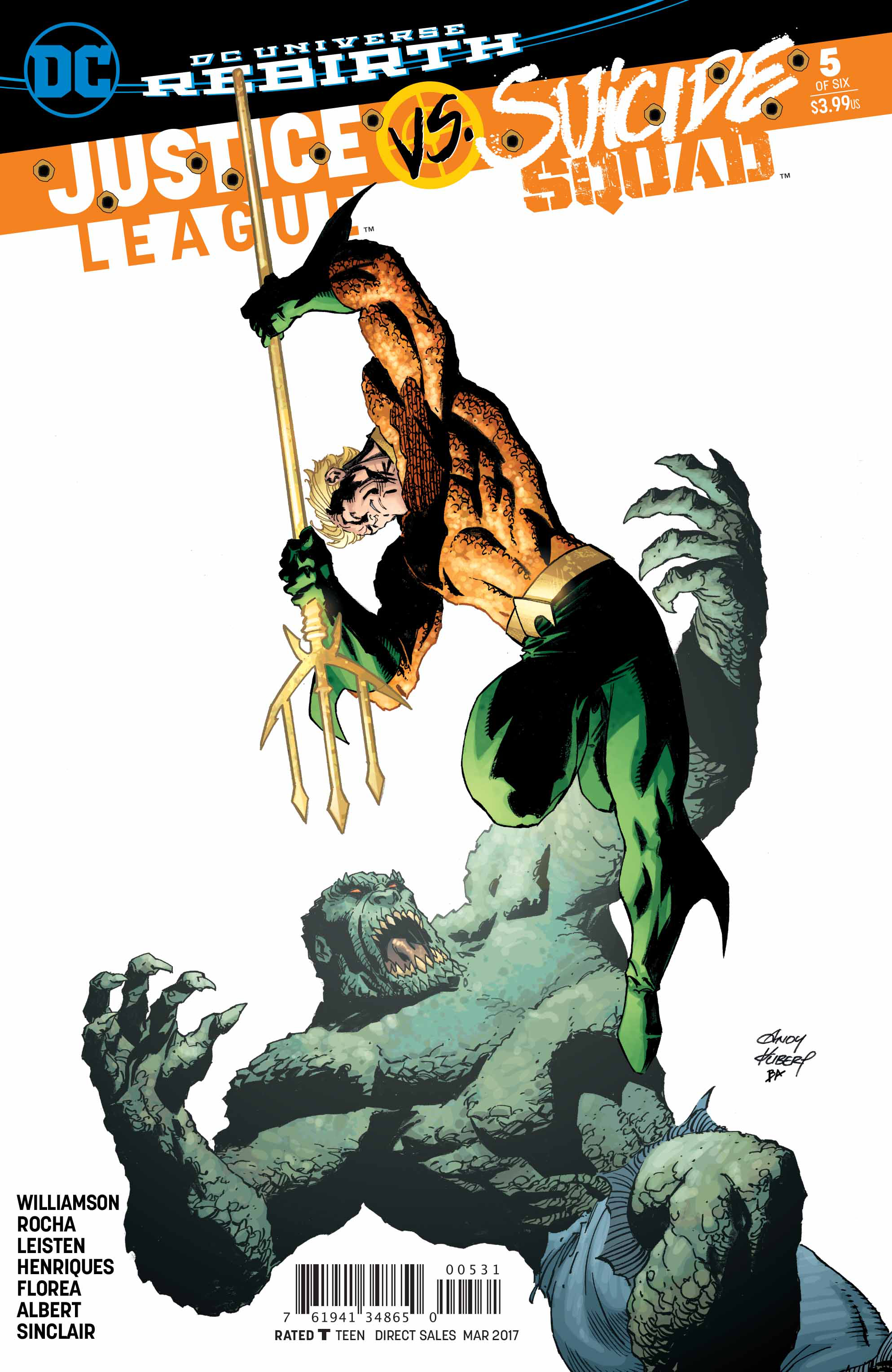 JUSTICE LEAGUE SUICIDE SQUAD #5 (OF 6) KUBERT VAR ED