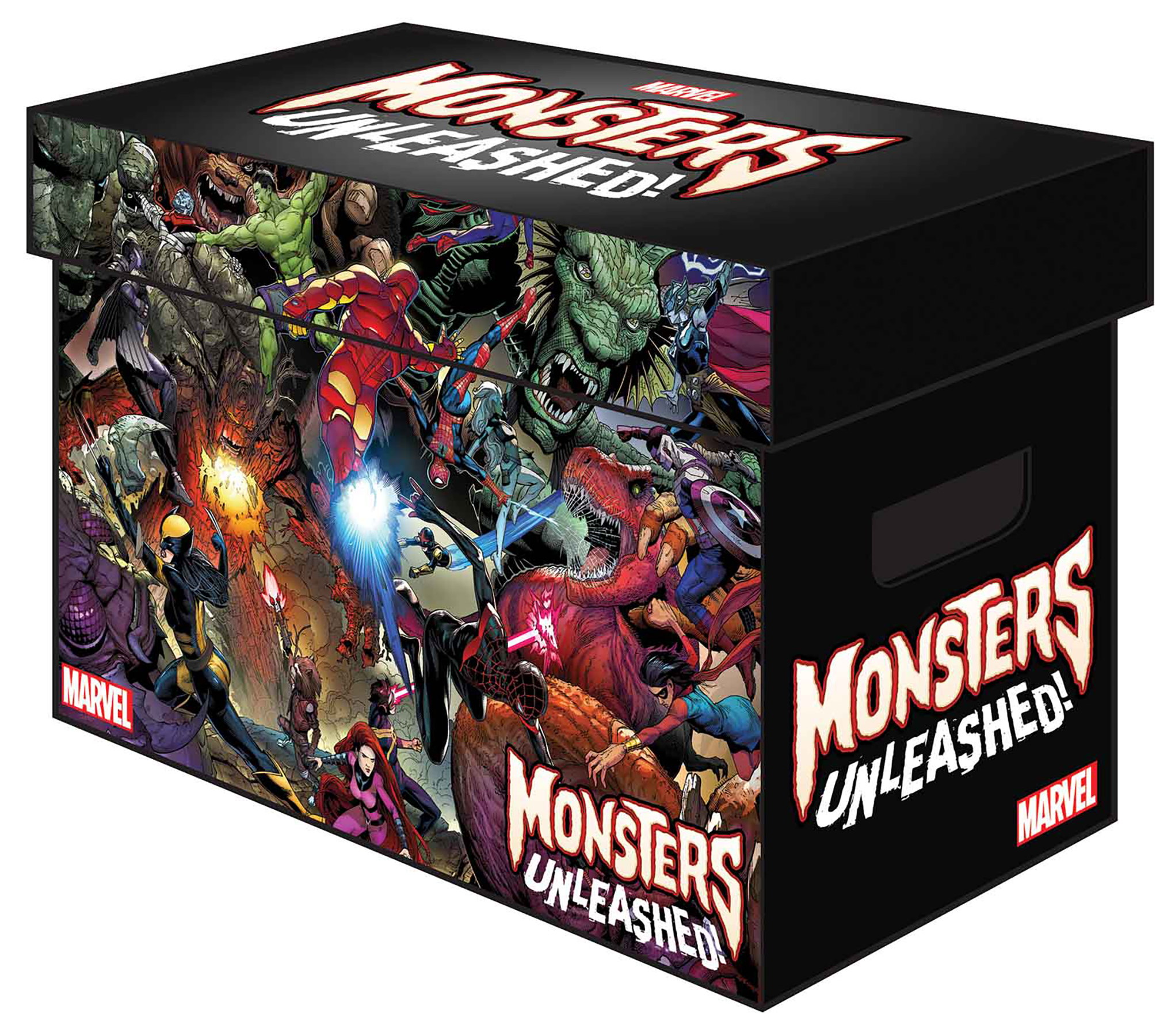 MARVEL GRAPHIC COMIC BOXES MONSTERS UNLEASHED (BUNDLE OF 5)