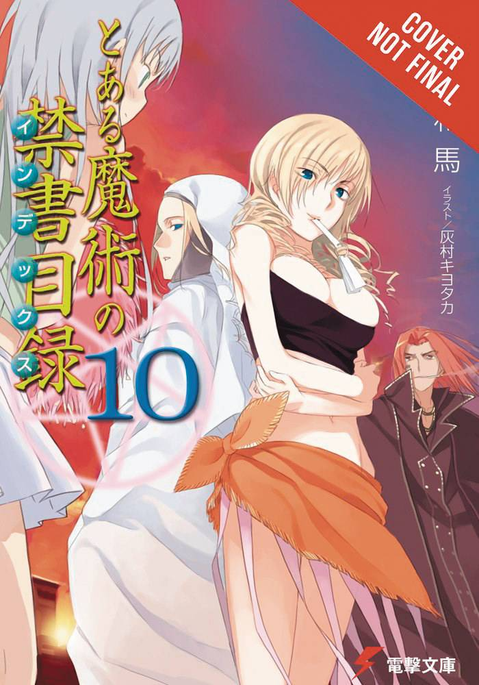 CERTAIN MAGICAL INDEX LIGHT NOVEL SC VOL 10