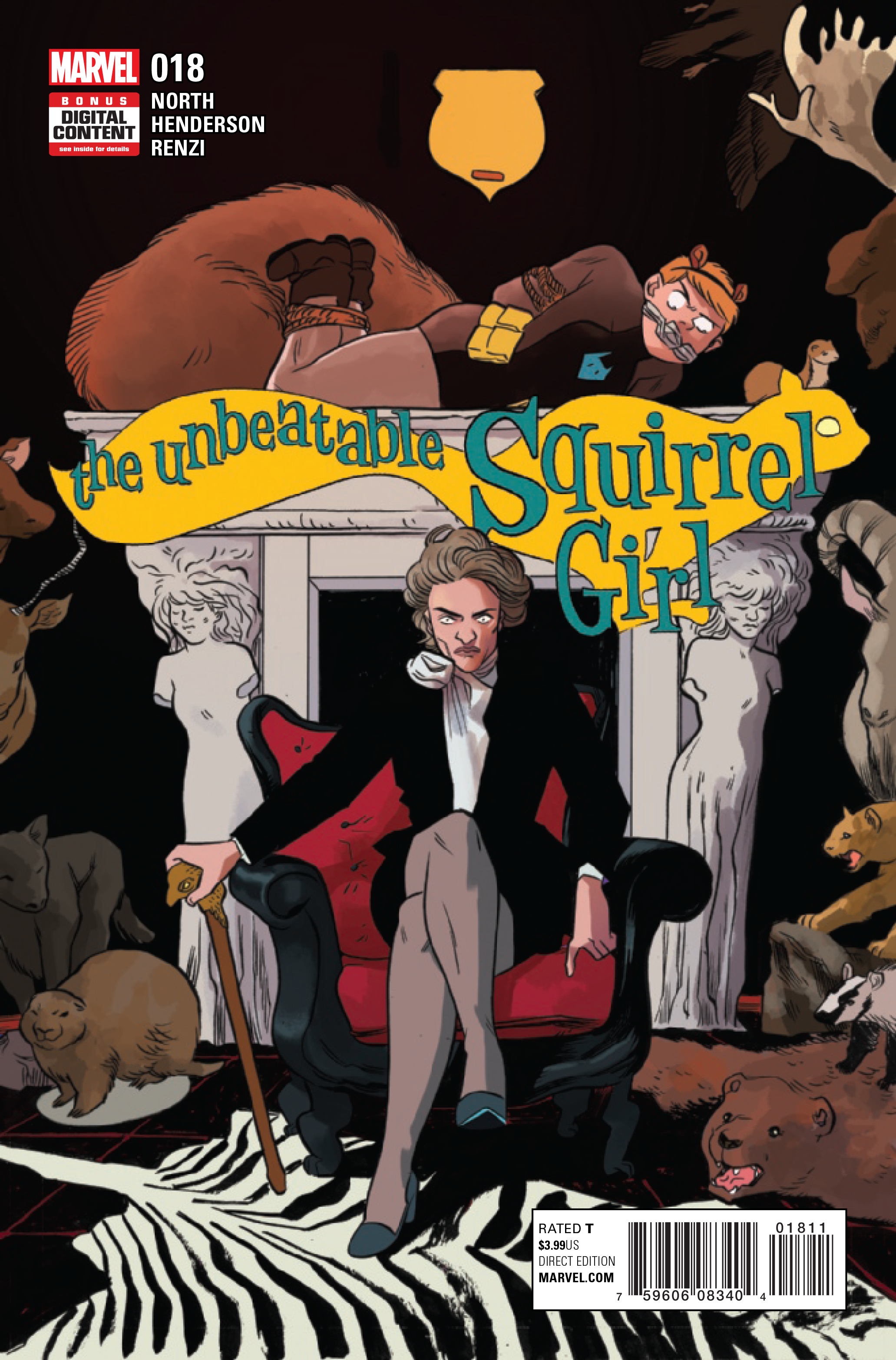 UNBEATABLE SQUIRREL GIRL #18