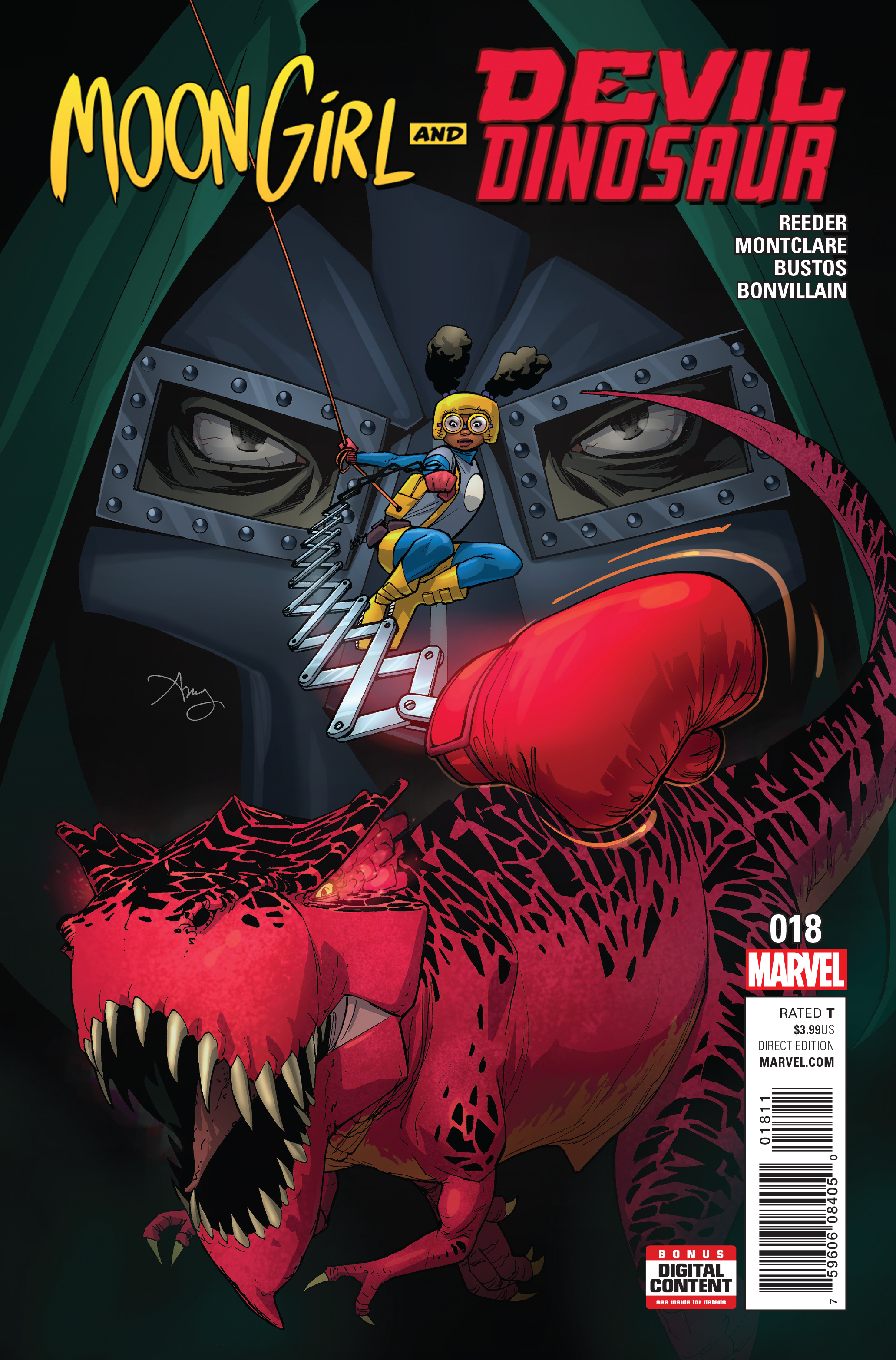 MOON GIRL AND DEVIL DINOSAUR #18