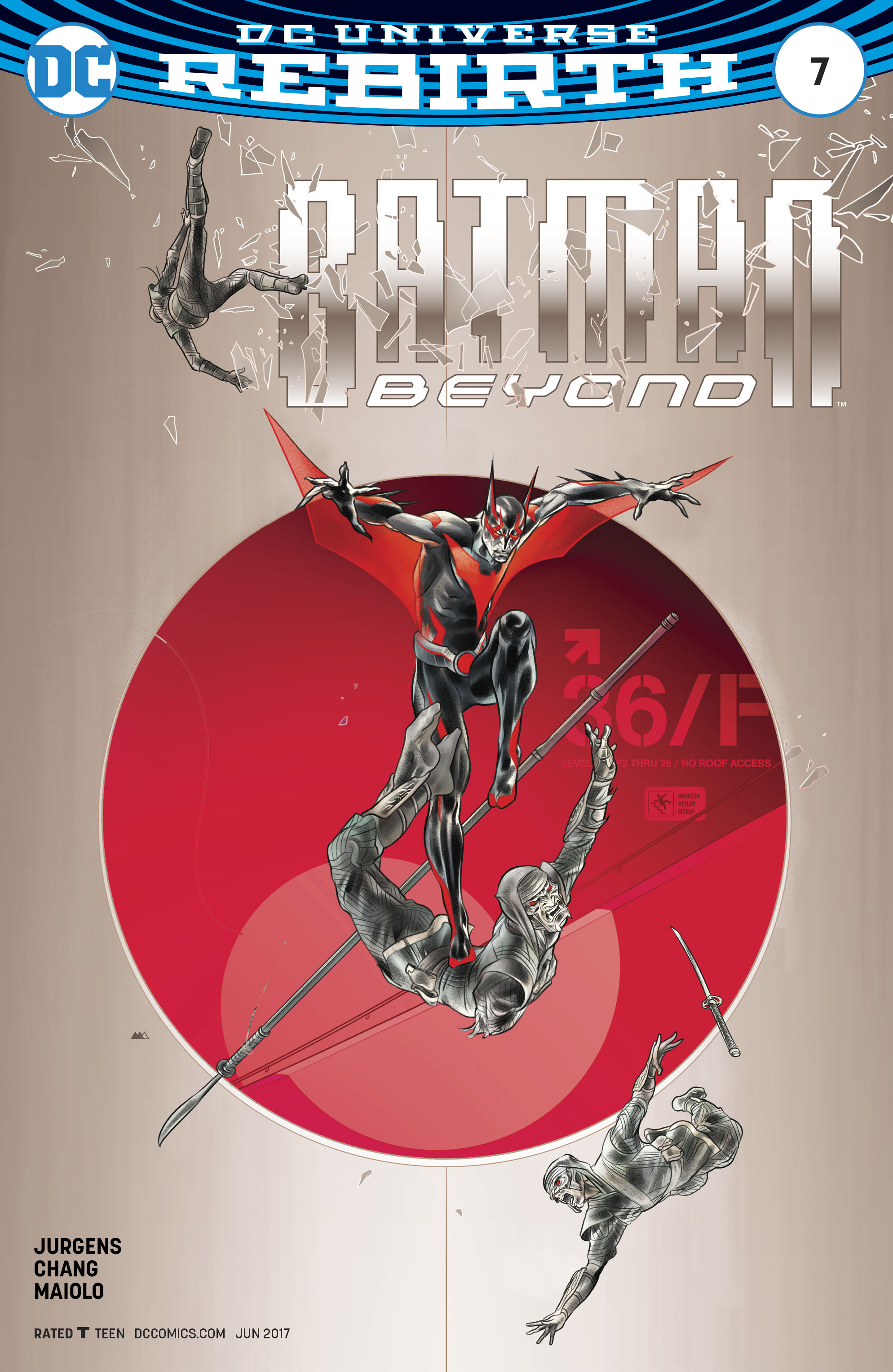 BATMAN BEYOND #7 VAR ED