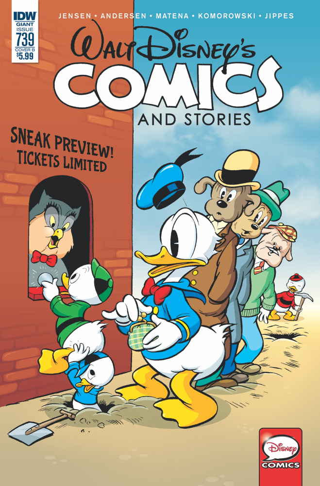 WALT DISNEY COMICS & STORIES #739 CVR B KELLY