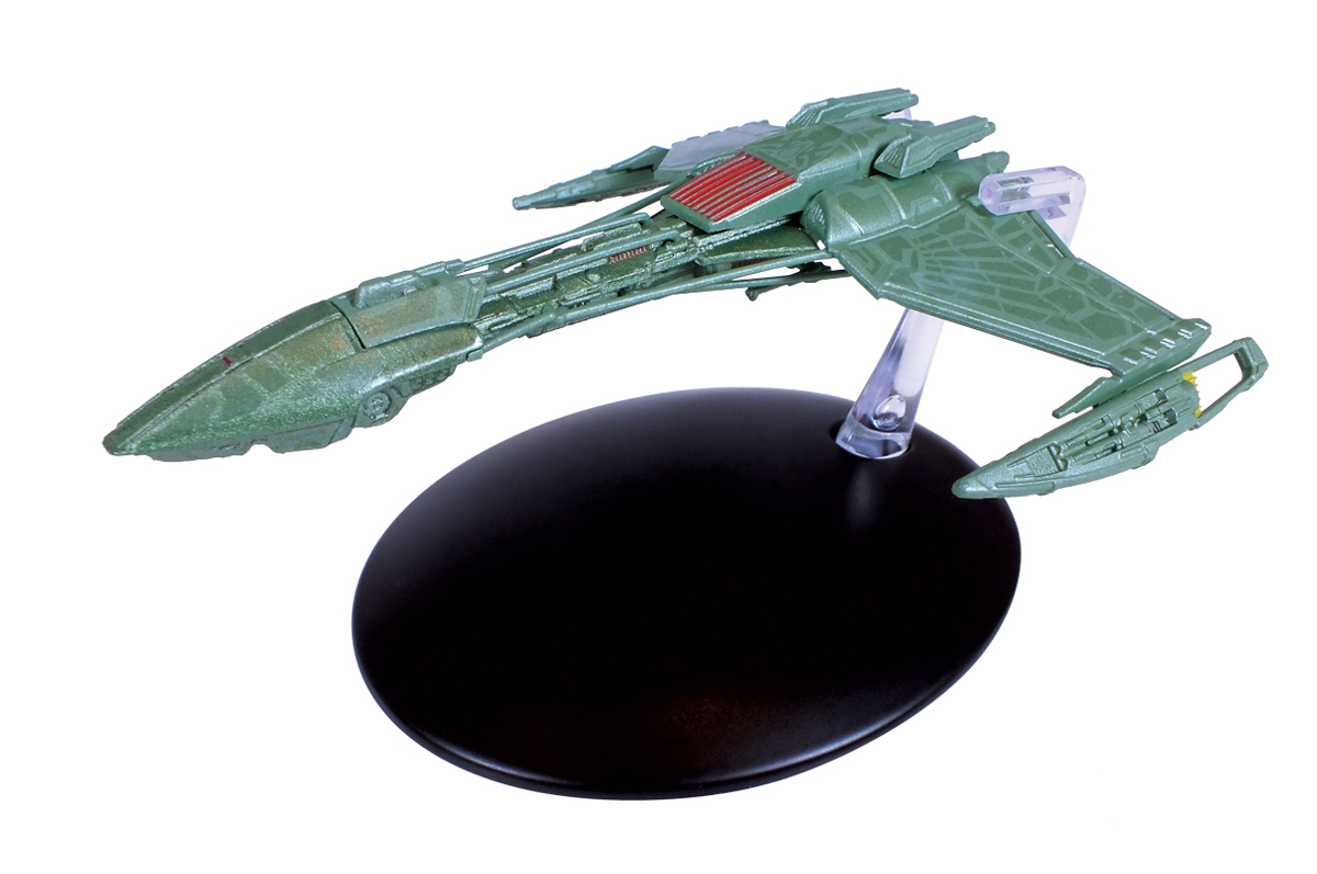 STAR TREK STARSHIPS FIG MAG #102 KLINGON D-5