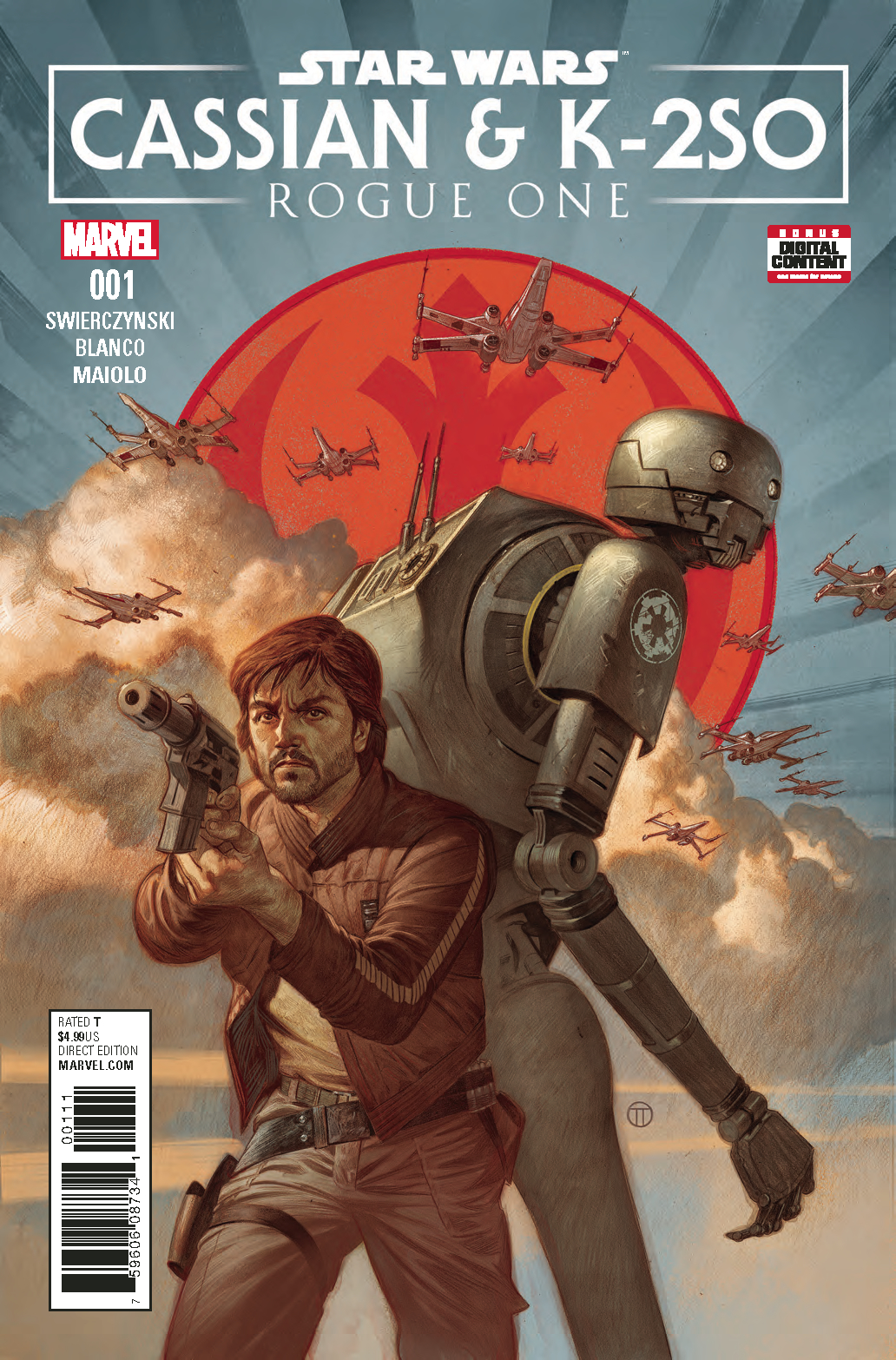 STAR WARS ROGUE ONE CASSIAN & K2SO SPECIAL #1