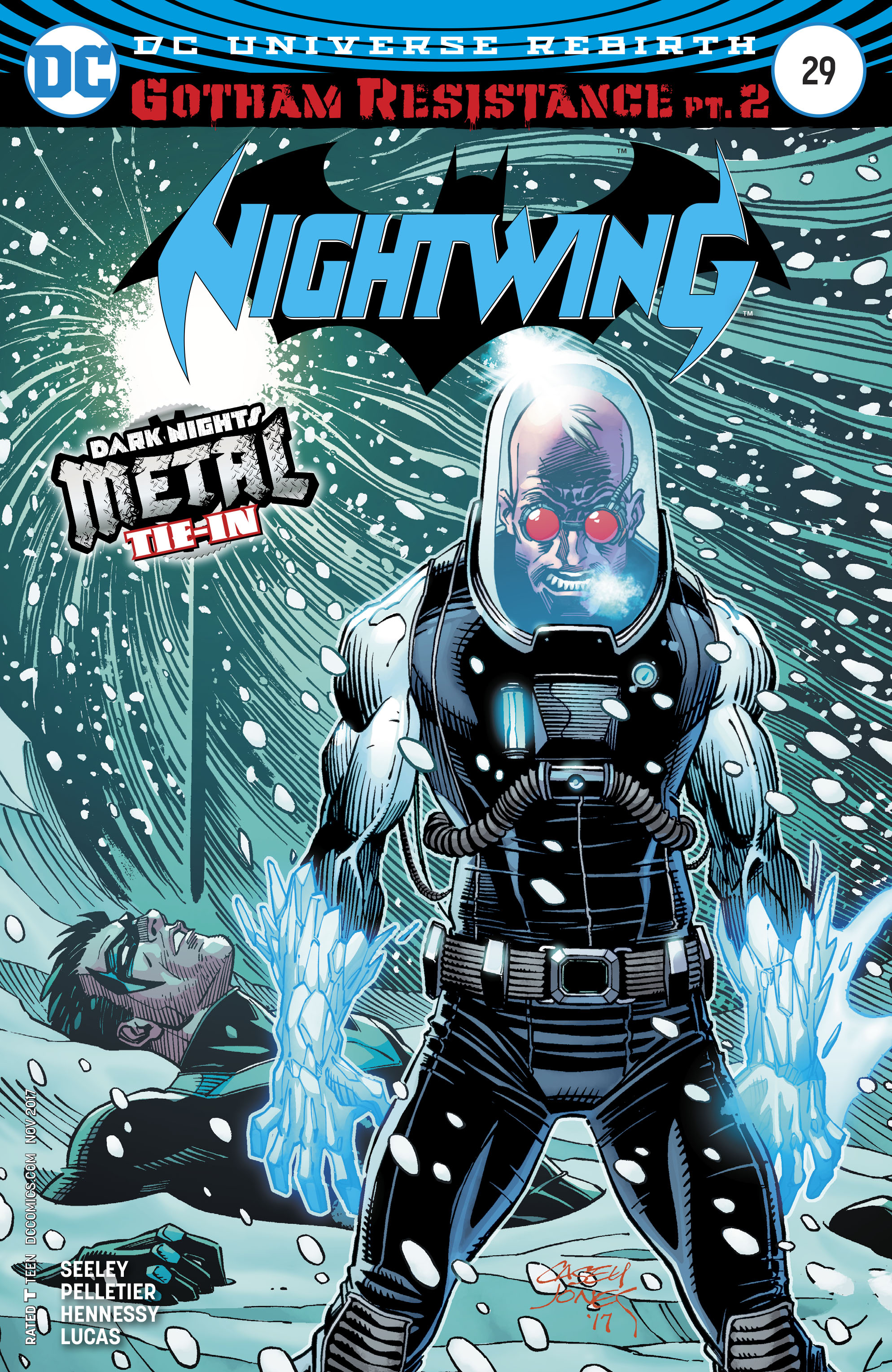 NIGHTWING #29 VAR ED (METAL)
