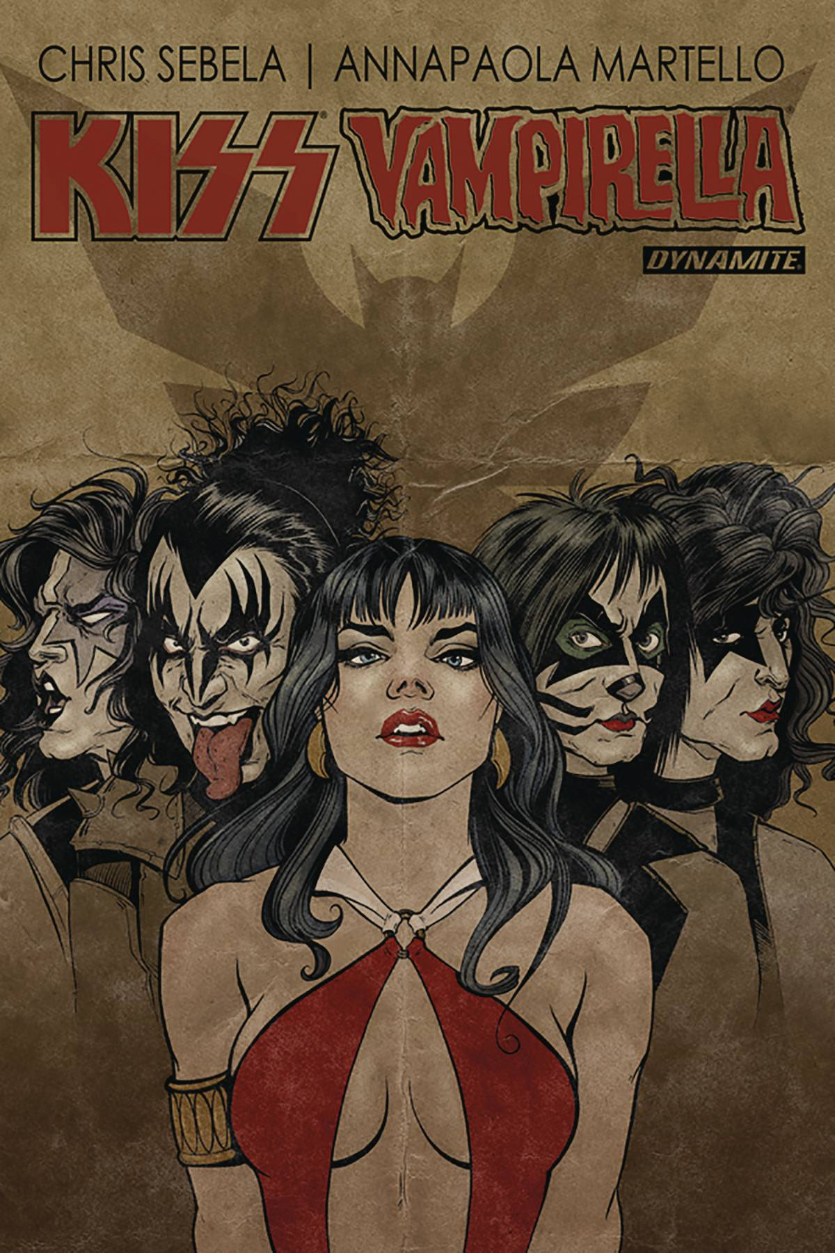 KISS VAMPIRELLA TP (DEC171443)