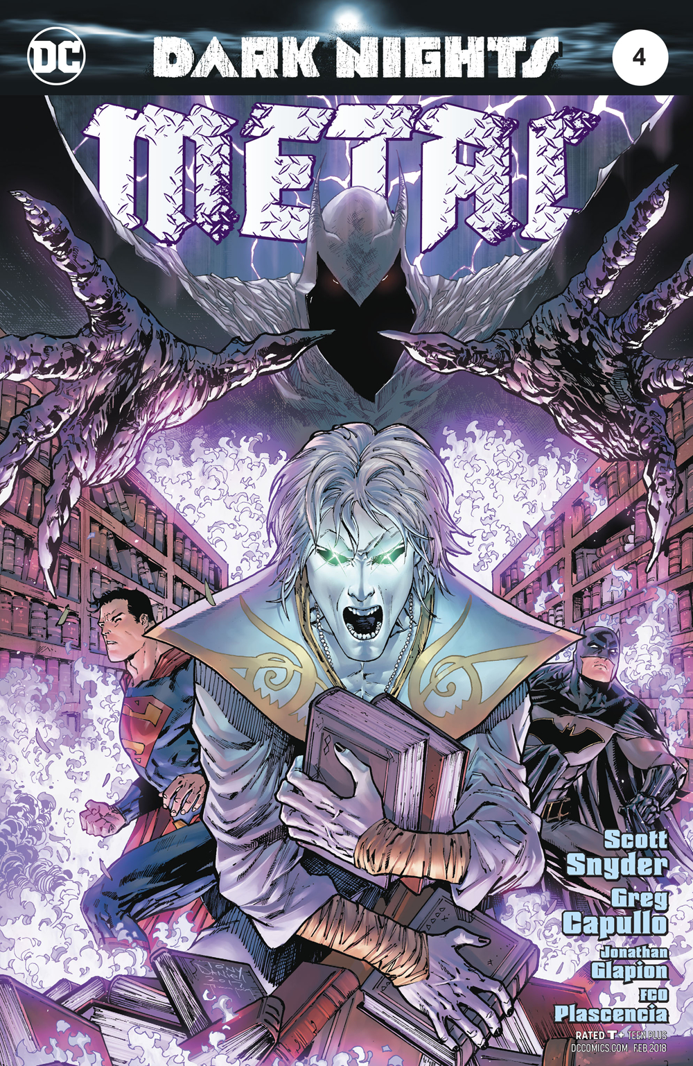 DARK NIGHTS METAL #4 (OF 6) DANIEL VAR ED