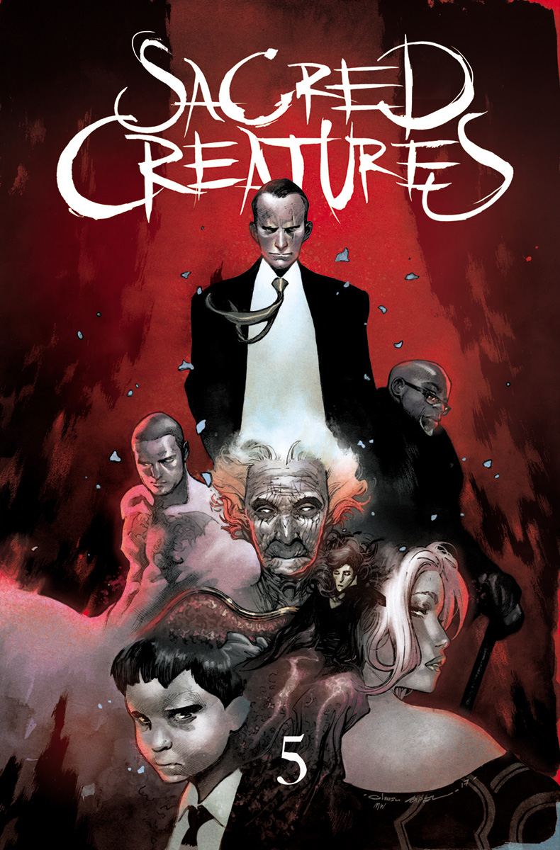 SACRED CREATURES #5 CVR C 25 COPY INCV (MR)