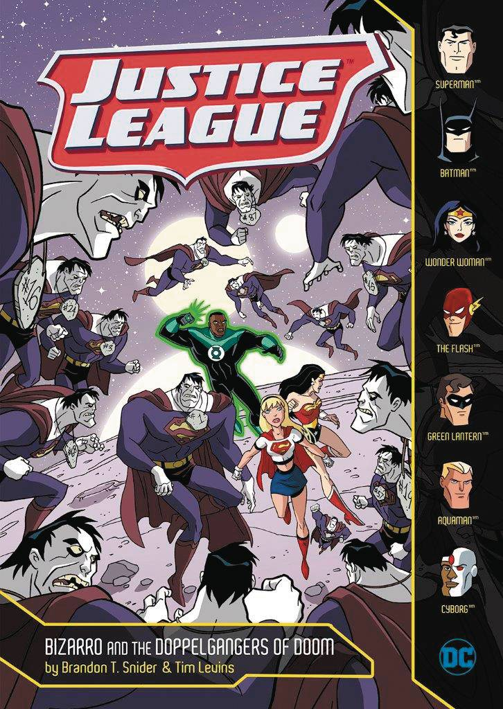 JUSTICE LEAGUE YR TP BIZARRO & DOPPELGANGERS OF DOOM