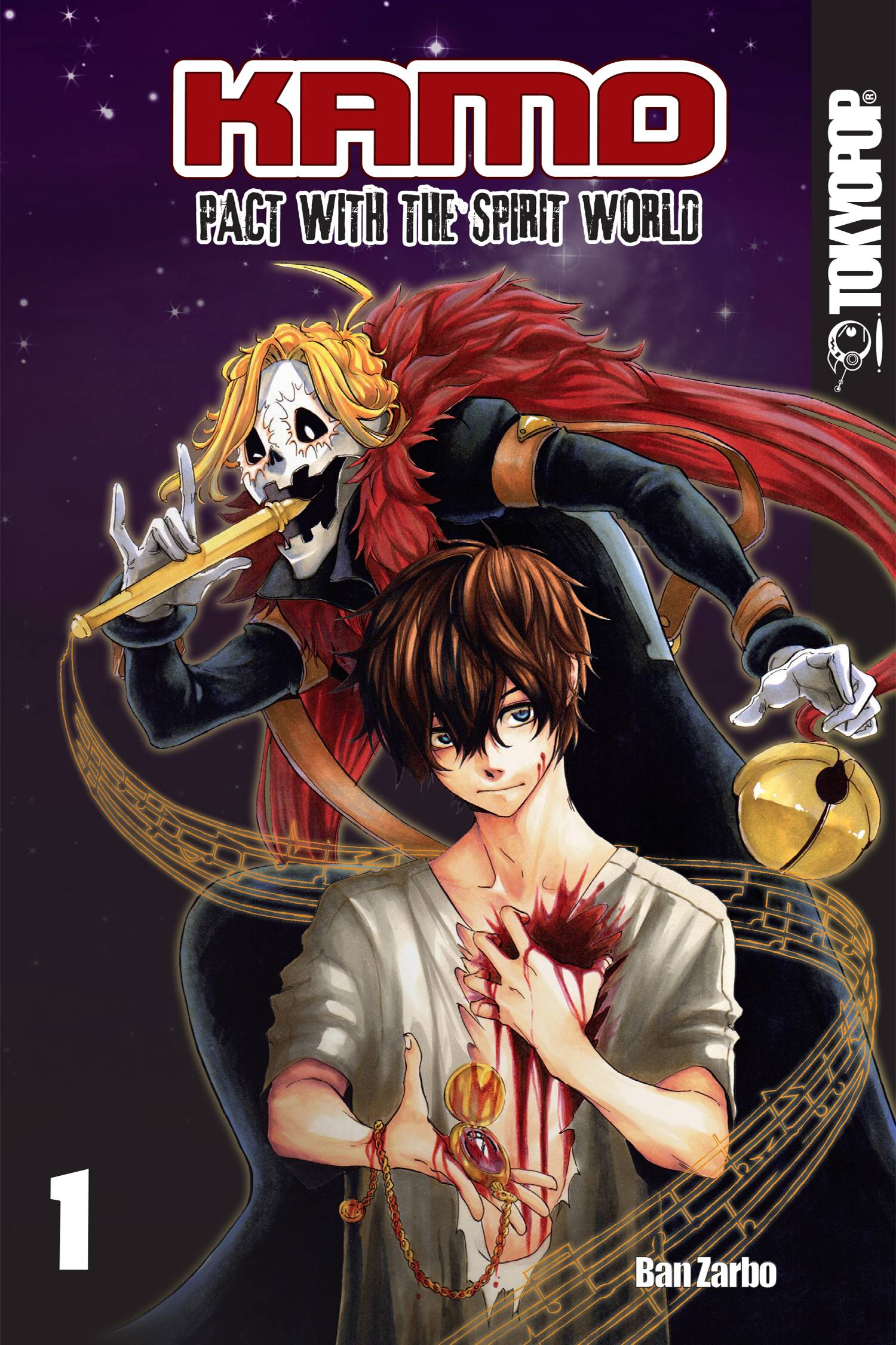 KAMO MANGA GN VOL 01 PACT WITH SPIRIT WORLD