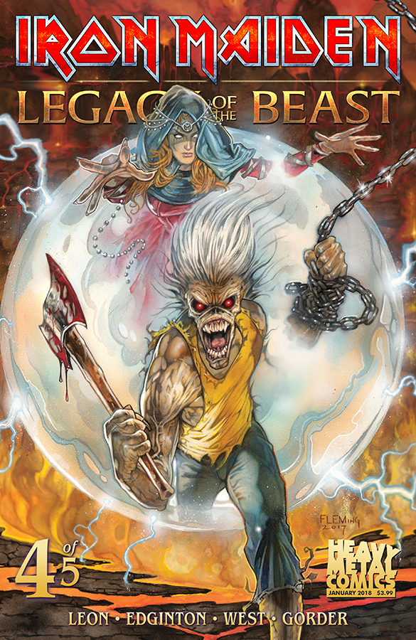 IRON MAIDEN LEGACY OF THE BEAST #4 (OF 5) CVR A CASAS (MR) (