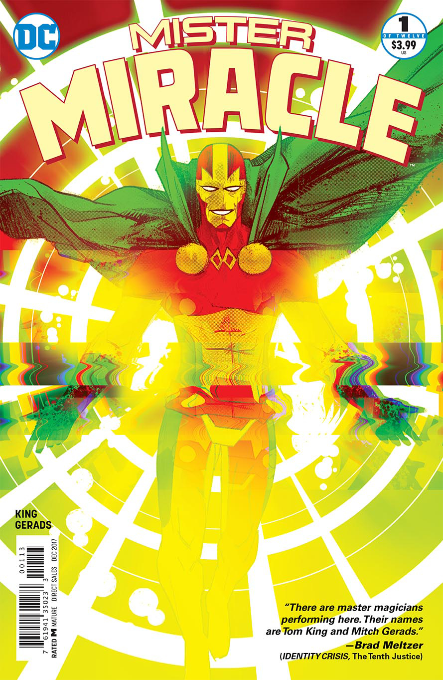 MISTER MIRACLE #1 (OF 12) 3RD PTG (MR)