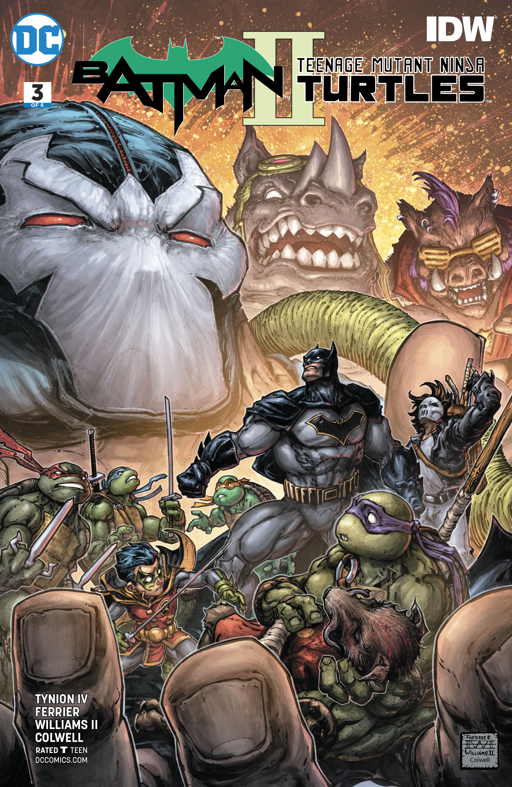 BATMAN TEENAGE MUTANT NINJA TURTLES II #3 (OF 6)