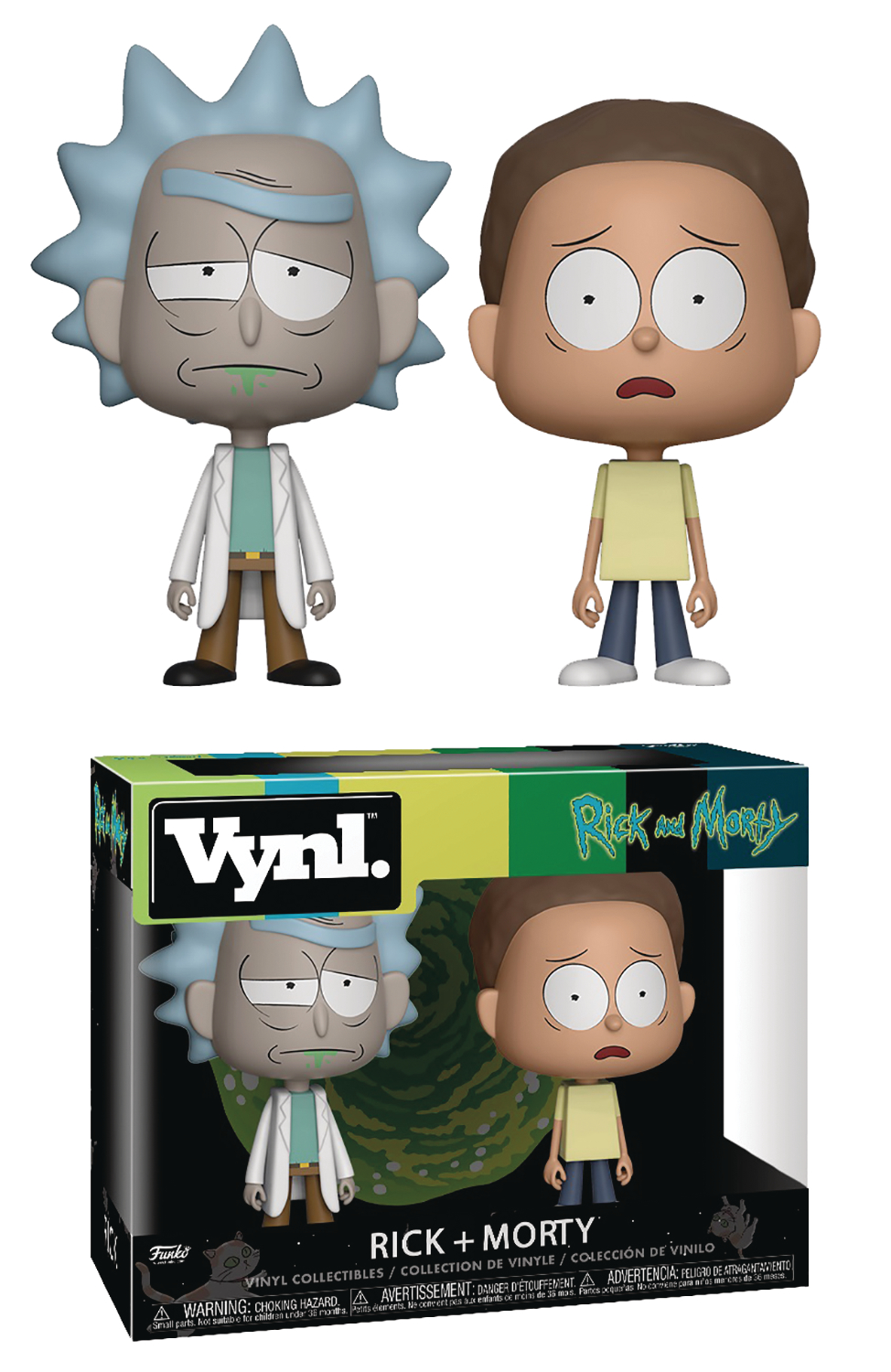 VYNL RICK & MORTY RICK & MORTY VINYL FIGURE 2PK