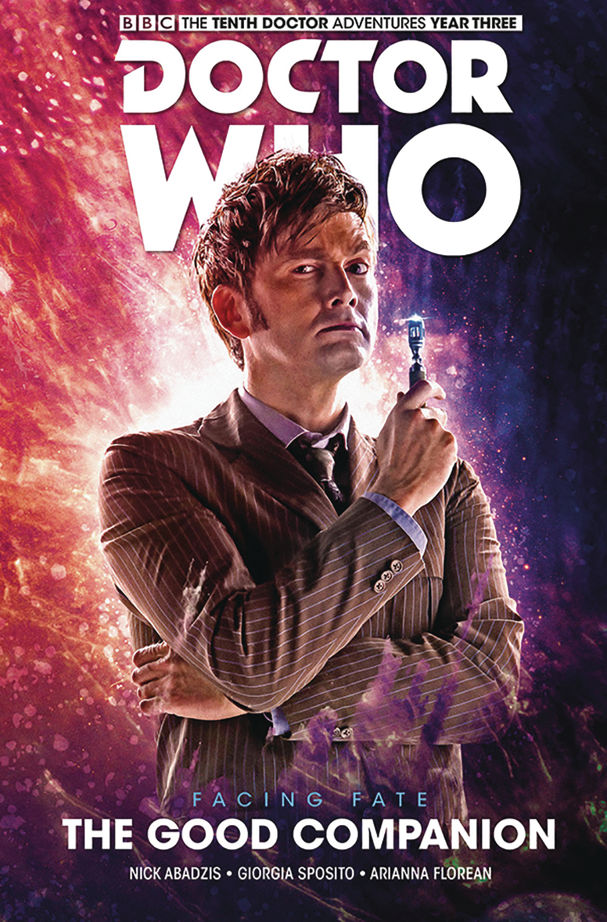 DOCTOR WHO 10TH FACING FATE HC VOL 03 GOOD COMPANION