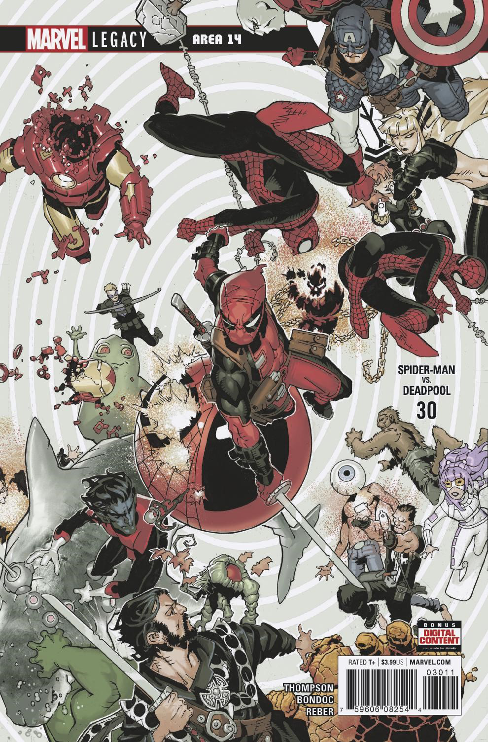 SPIDER-MAN DEADPOOL #30 LEG