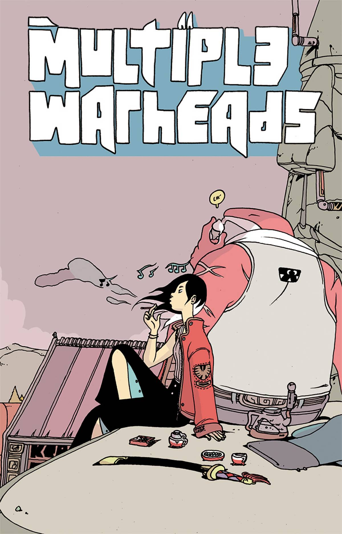 MULTIPLE WARHEADS TP VOL 02 GHOST TOWN (APR180610) (MR)