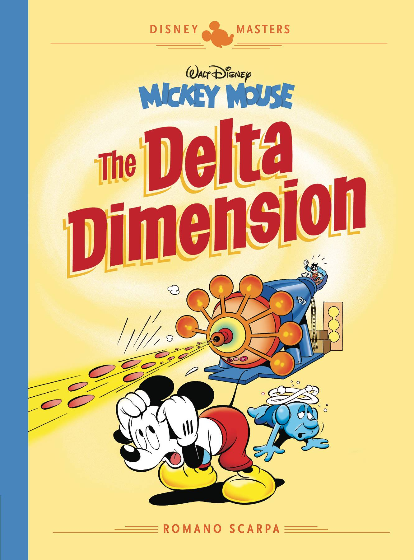 DISNEY MASTERS HC VOL 01 SCARPA MICKEY MOUSE DELTA DIMENSION