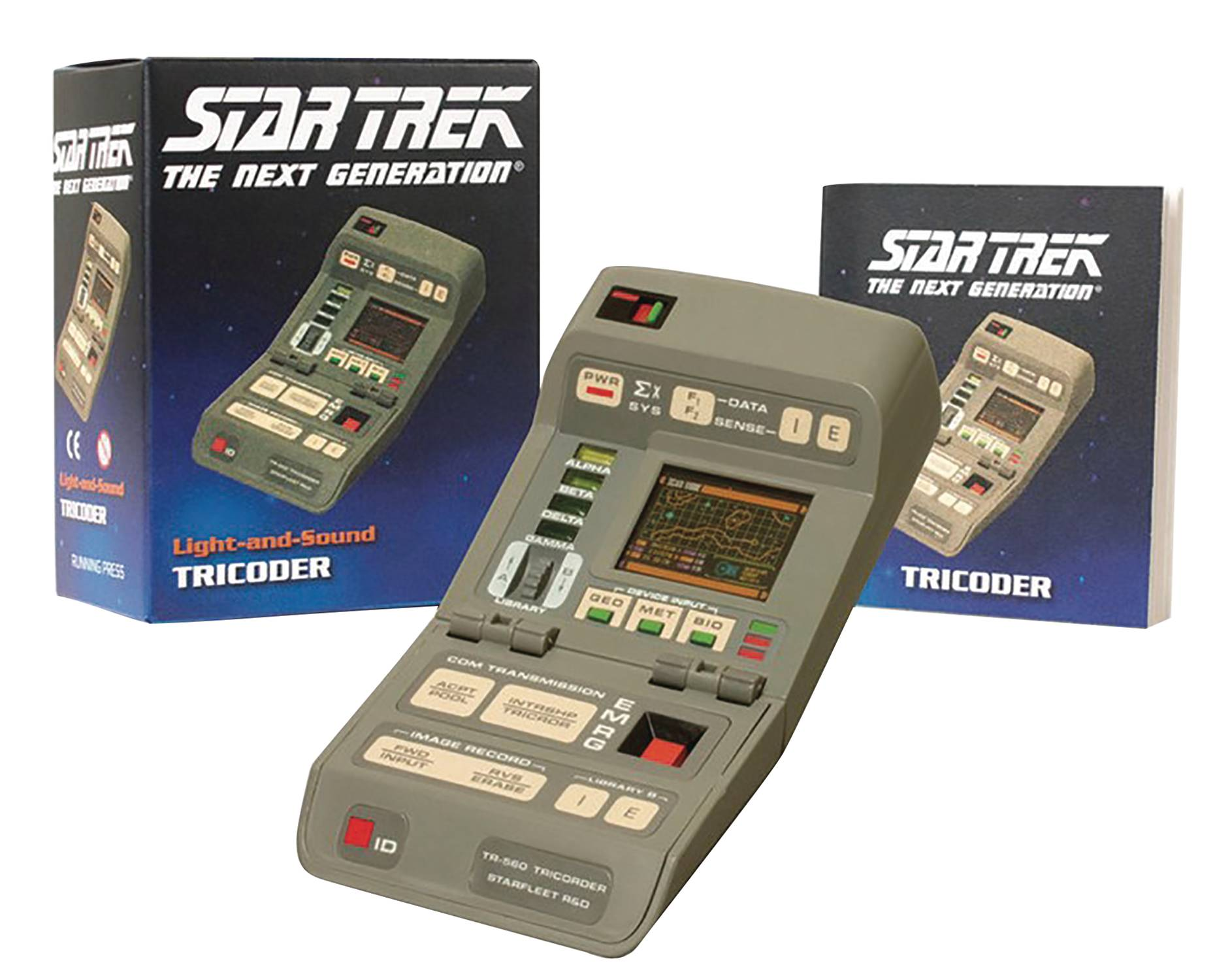 STAR TREK LIGHT & SOUND TRICORDER KIT