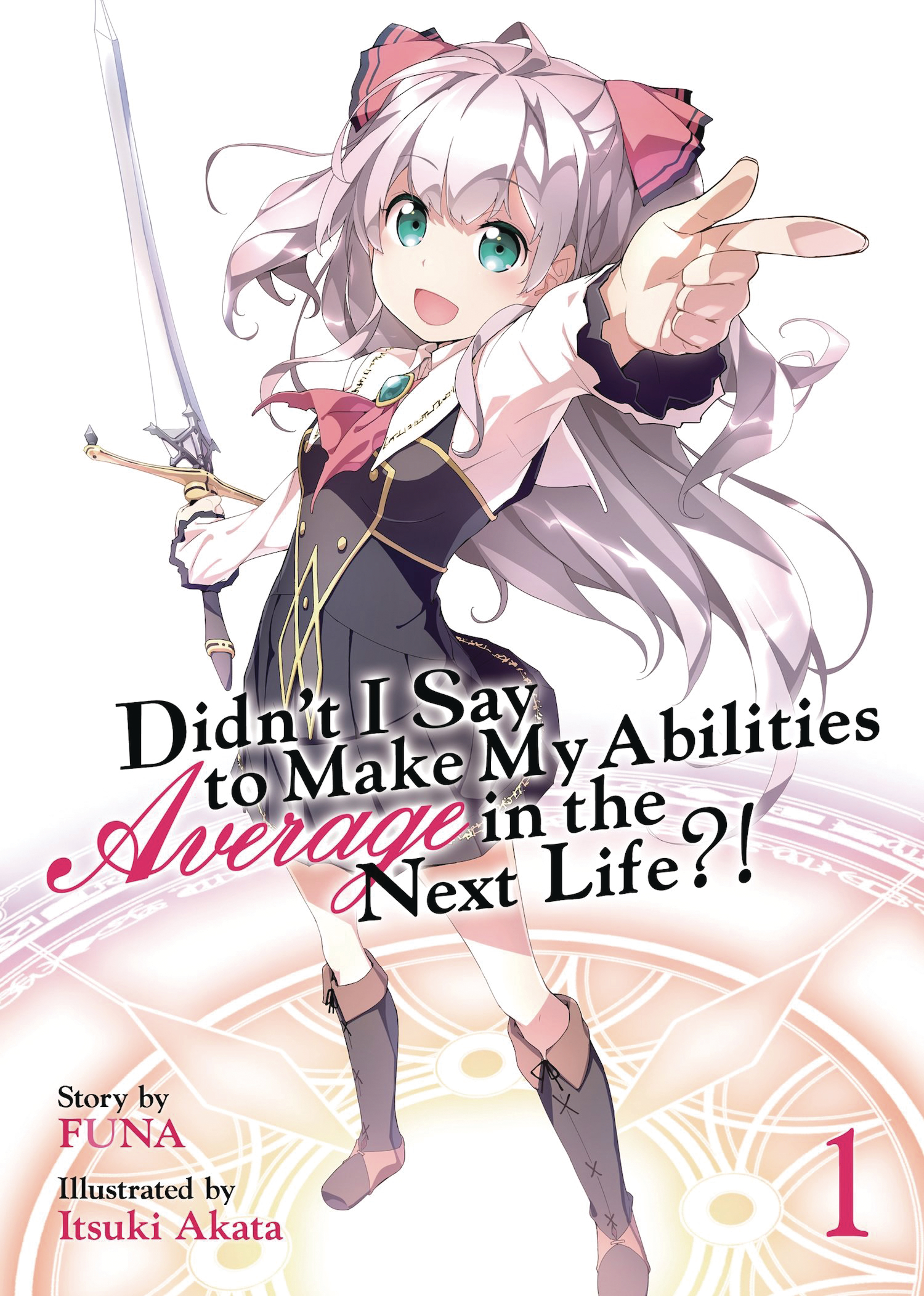DIDNT I SAY MAKE ABILITIES AVERAGE NOVEL SC VOL 01 (MR)