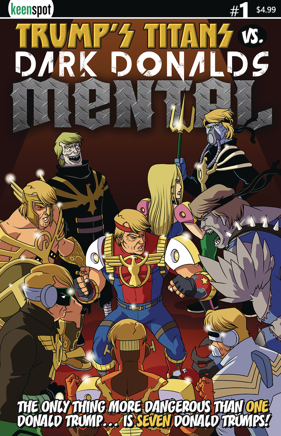 TRUMPS TITANS VS DARK DONALDS MENTAL #1 CVR A