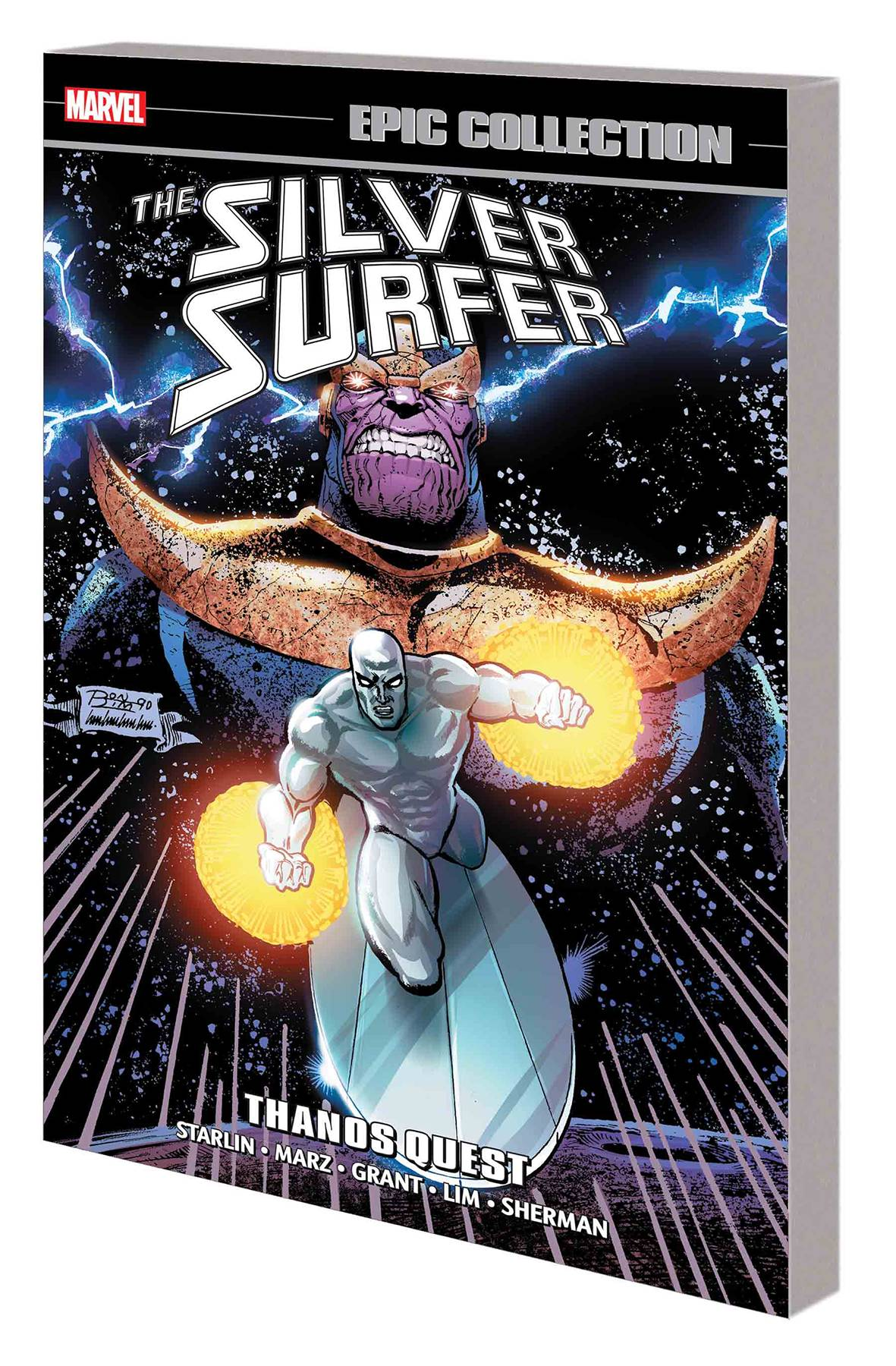 SILVER SURFER EPIC COLLECTION TP THANOS QUEST