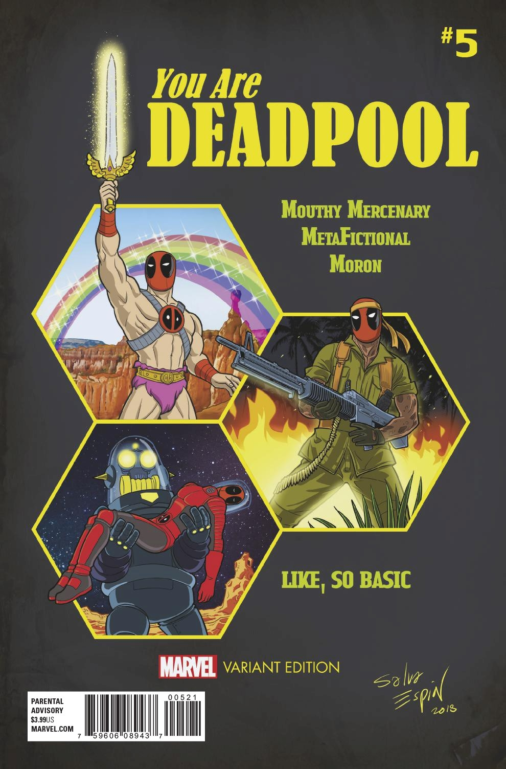 YOU ARE DEADPOOL #5 (OF 5) ESPIN RPG VAR